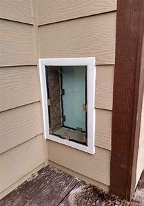 We know how to install dog doors right for Smart dog door for wall