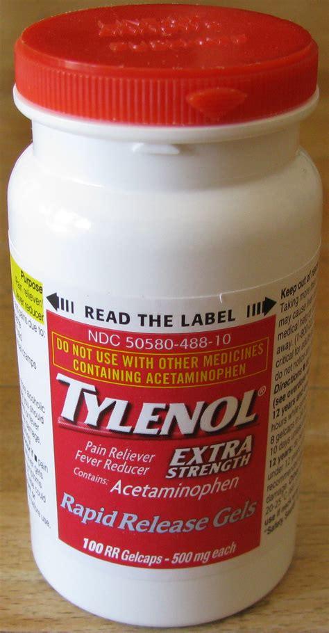 kasus tylenol wikipedia bahasa indonesia ensiklopedia bebas