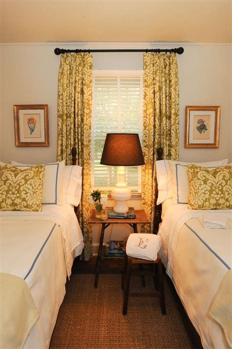 22 Guest Bedrooms with Captivating Twin Bed Designs Twin