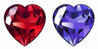 Diamond Transparent Clipart Hearts Heart Gemstone Amethyst