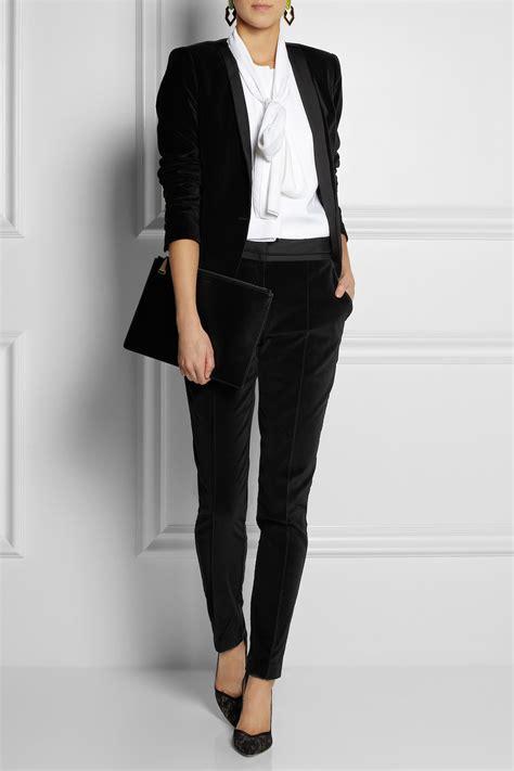 Day birger et mikkelsen Velvet Skinny Pants in Black | Lyst