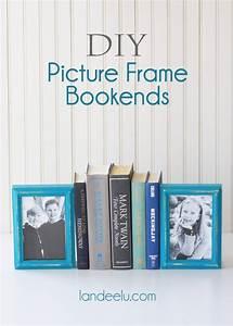 DIY Picture Frame Bookends – AllCrafts Free Crafts Update