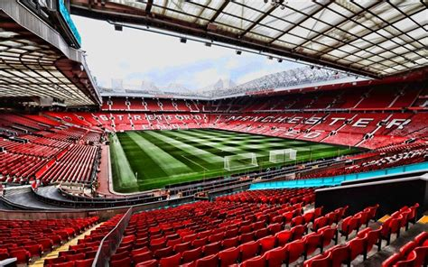 Download wallpapers Old Trafford, Red Devils Stadium, 4k ...