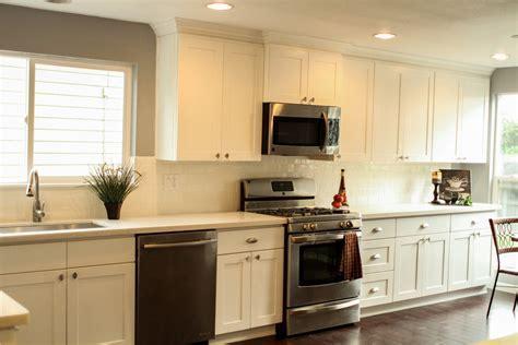 White Shaker Kitchen Cabinets » Alba Kitchen Design Center