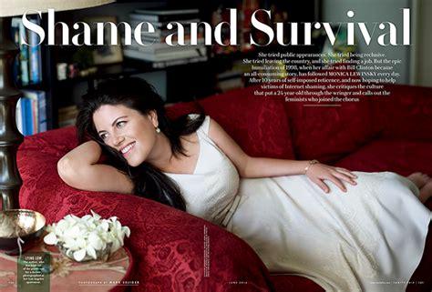 Lewinsky Vanity Fair Photoshoot by Lewinsky Writes About Clinton Affair In Vanity Fair