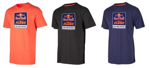 Red Bull Ktm Factory Racing Logo Tee