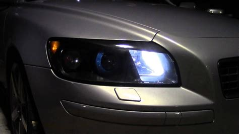 volvo  stealth headlights youtube