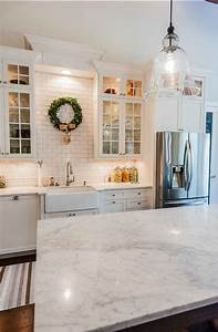My dream fixer upper inspired kitchen for Kitchen colors with white cabinets with subway wall art