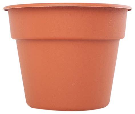 plastic garden pots and planters bloem patio lawn garden 20 quot dura cotta plastic planter
