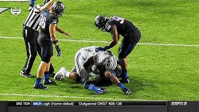 Byu Player Punch Groin Opponent Punches Sucks