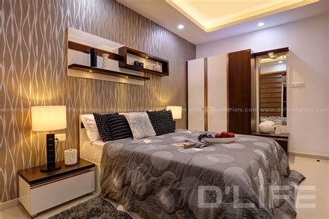 D'life Home Interiors Calicut : Bed Room Interiors In Kerala As Part Of Home Furnishing