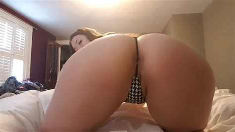 Sexy Milf Farting On Thong