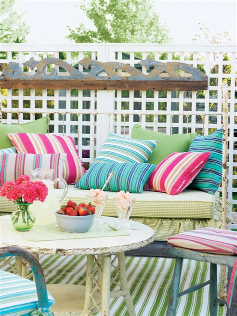 ash tree cottage spring  summer porch ideas