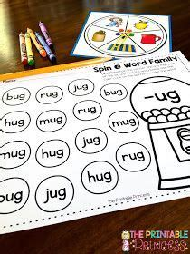 ug words family images word families words cvc