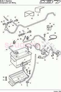 Aston Martin Db7  1995  Components And Wiring 1 Parts