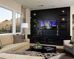 Media room design pictures remodel decor and ideas for Kitchen cabinets lowes with theater room wall art