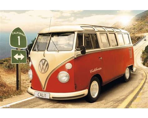 vw bulli deko deko panel volkswagen bulli t1 bunt 60x90 cm bei hornbach kaufen