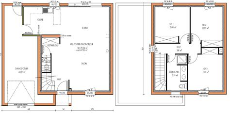 maison 2 chambres plans maisons on house plans modern house