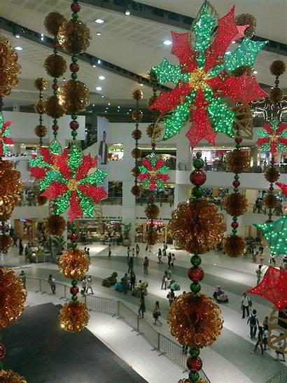 Decorations Christmas Mall Shopping Malls Tree Scant