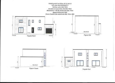 cuisine avis plan de maison toit terrasse messages plan maison moderne toit plat plain pied