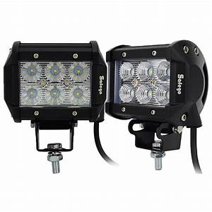 Flood lights for vehicles : Amazing flood lights for cars with additional led off