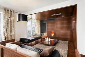 Wohnzimmer Holz Modern : wohnzimmer modern einrichten 52 tolle bilder und ideen ~ Indierocktalk.com Haus und Dekorationen