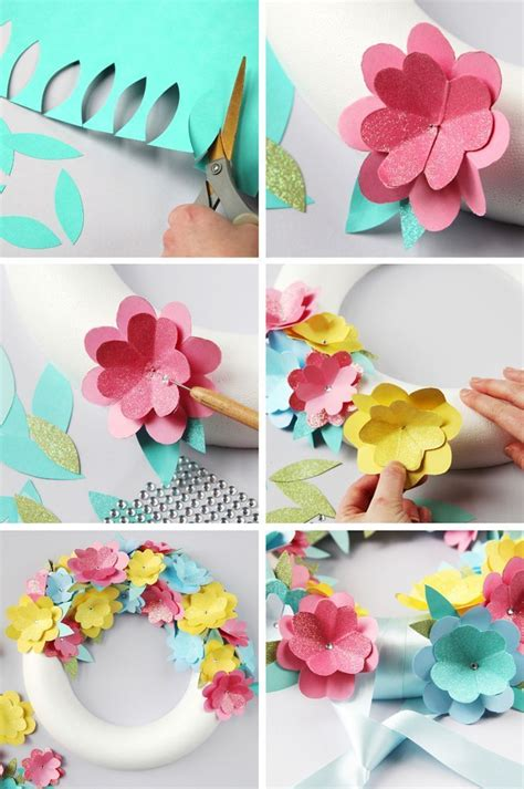 magnolia leaf garland diy 17 best ideas about easy paper flowers on