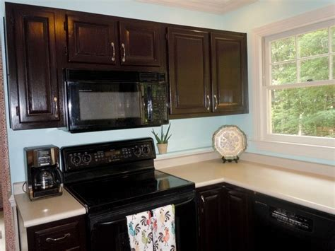 do you stain the inside of kitchen cabinets best 25 stained kitchen cabinets ideas on 9953