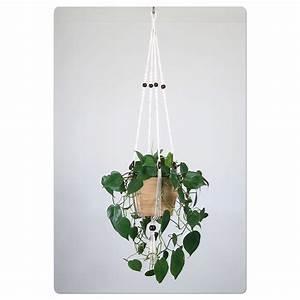 Suspension Plante Interieur : suspension pour plante en macram bymadjo shanti d co ~ Preciouscoupons.com Idées de Décoration