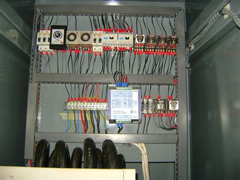 installation of electrical panels ats automatic transfer switch