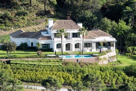 plantation style home stunning 5 bedroom villa in benahavis luxury villa