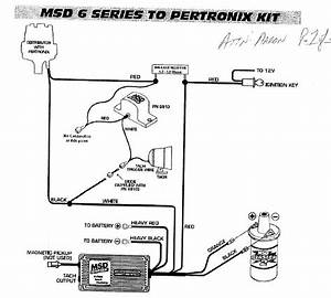 Msd Wiring Diagram With Pertronix And Red Coil