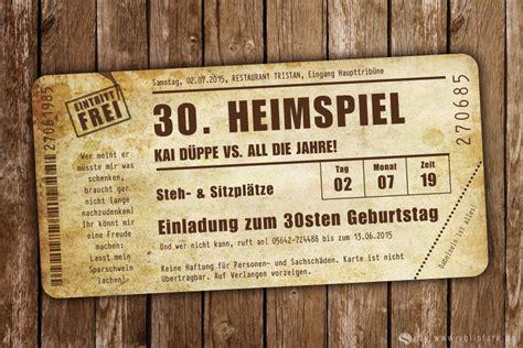 einladungskarte heimspiel vintage das original