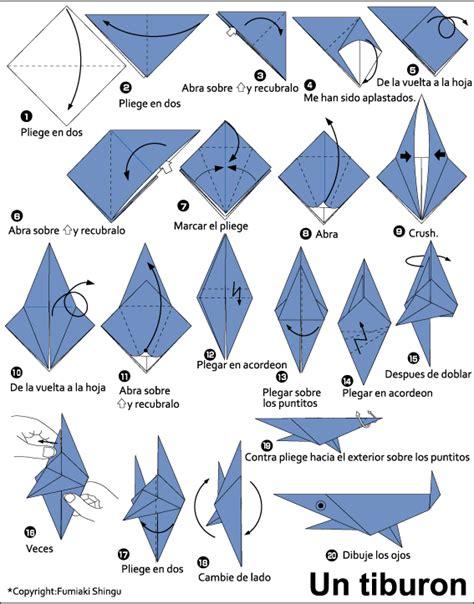 How Easy Origami Shark Tutorial Handmade