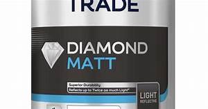 Dulux Trade Light  U0026 Space Diamond Matt