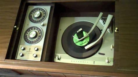 motorola coffee table stereorecord player