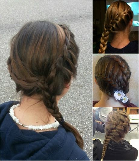 daily hairstyles for long straight hair