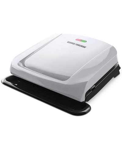 George Foreman 6 Serving Removable Nonstick Plate Countertop Grill by George Foreman Grp1060p 4 Serving Grill With Removable