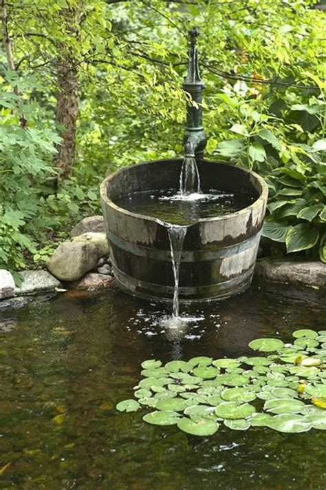 le jardin des fontaines petrifiantes exemples de belles fontaines de jardin