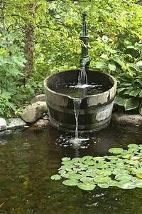 Fontaine Solaire Pour Bassin : d coration de jardin avec une fontaine pour bassin ~ Dailycaller-alerts.com Idées de Décoration