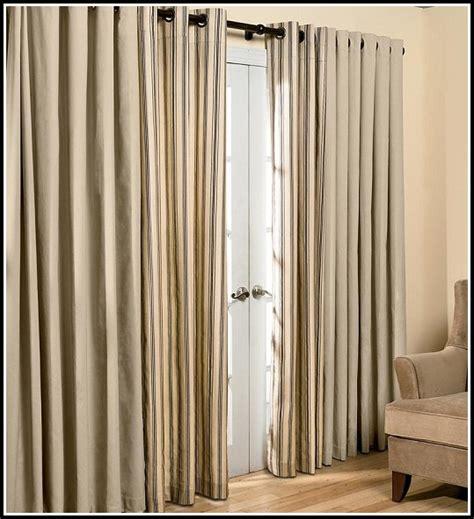 curtain rod for patio door curtains home design ideas