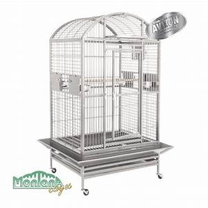 Cage A Perroquet : hacienda dome chiara voliera per pappagallo in powder coated avilon ~ Teatrodelosmanantiales.com Idées de Décoration