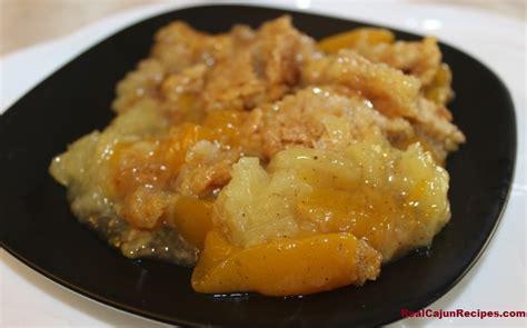 easy cajun desserts recipes pineapple and cobbler realcajunrecipes la cuisine de maw maw