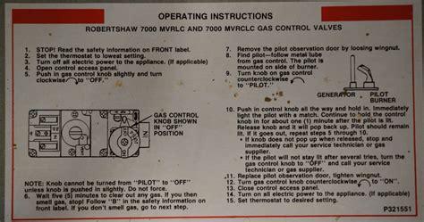 should consider a williams wall furnace pilot light