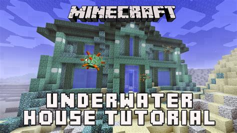 minecraft     house underwater coral house part  youtube
