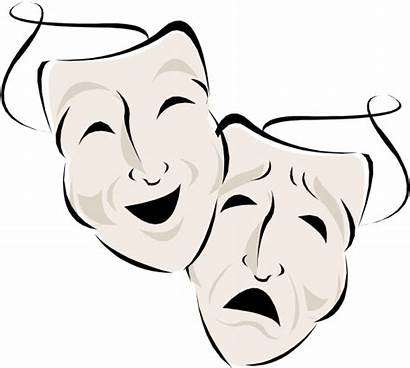 Acting Transparent Theatre Drawing Clip Masks Mask