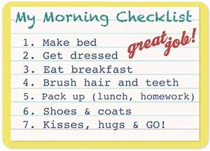 Free Printables: Family Checklists Make Going Back