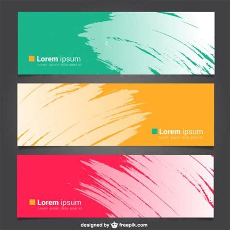 banner templates  sample  format
