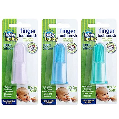 baby buddy silicone finger toothbrush buybuy baby