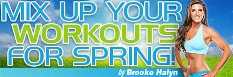 Mix Up Your Workouts For Spring